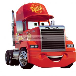 "10"" Mack Truck Disney Pixar Cars Removable Wall Decal Sticker Home Decor Art Kid"