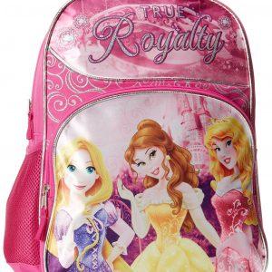 "16"" Disney Princess Large Backpack ~ Rapunzel, Belle & Sleeping Beauty"