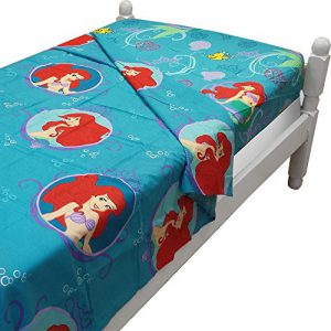 "Ariel Little Mermaid ""Gleaming"" Twin Size Sheet Set"