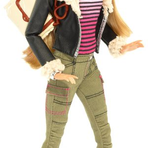 Barbie Style Leather Jacket Barbie Doll