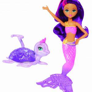 Barbie The Pearl Princess Mermaid Doll with Sea Turtle