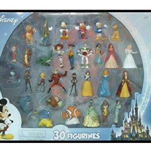 Beverly Hills Teddy Bear Company Disney Super Assortment Toy Figure Playset, 30-Piece
