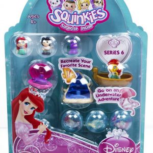 Blip Squinkies Princess Bubble Pack - Ariel 2 with Tiny Toys