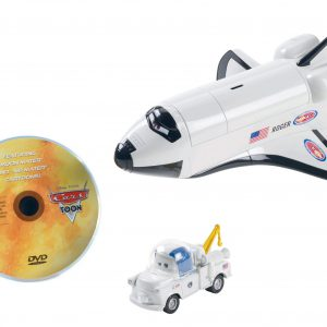 Cars Space Mission Adventure with Moon Mater and DVD Set