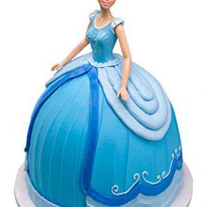 "DecoPac Disney Princess Doll Signature Cake DecoSet Cake Topper, Cinderella, 11"""