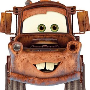 Disney 7 Inch Tow Mater Truck Pixar Cars 2 Movie Removable Wall Decal Sticker Art Home Decor