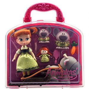 Disney Animators' Collection Anna Mini Doll Play Set - 5'' - New by Frozen