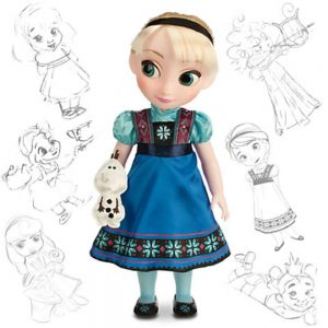 Disney Animators' Collection Elsa Doll - 16''