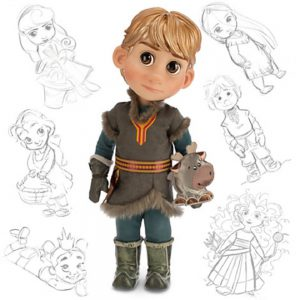 Disney Animators Collection Frozen Kristoff Doll with Sven 16