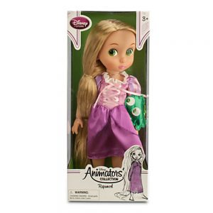 "Disney Animators' Collection Princess Rapunzel Toddler Doll - 16"" with Plush Friend Pascal"