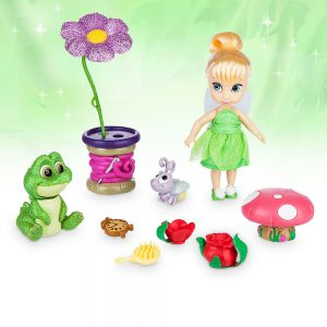 Disney Animators' Collection Tinker Bell Mini Doll Play Set