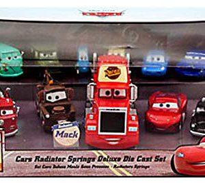 Disney Cars 1:43 Diecast Car 11-Pack Radiator Springs Deluxe Set