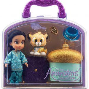 Disney - Disney Animators' Collection Jasmine Mini Doll Play Set - 5'' - New