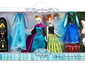 Disney Frozen 11 Inch Deluxe Fashion Doll Set [Anna & Elsa]