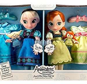 Disney Frozen Anna and Elsa Animators Collection Dolls Deluxe 2015 Set