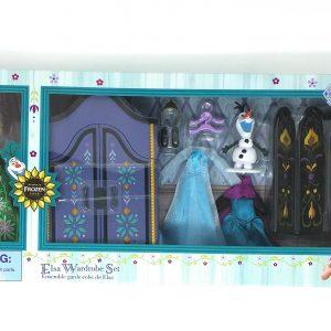 Disney Frozen Elsa Doll and Wardrobe Set