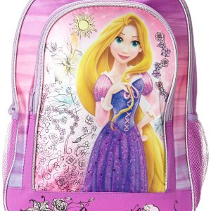 Disney Little Girls'  Tangled Rapunzel Backpack with 3D Detail, Multi, One Size