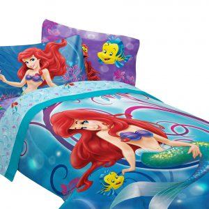 "Disney Little Mermaid Shimmer and Gleam 72"" x 86"" Comforter, Twin/Full"