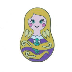 Disney Nesting Dolls Mini Pin Pack - Rapunzel Only