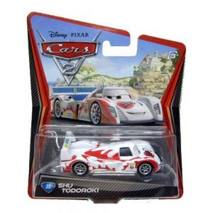 Disney / Pixar CARS 2 Movie 155 Die Cast Car #22 Shu Todoroki