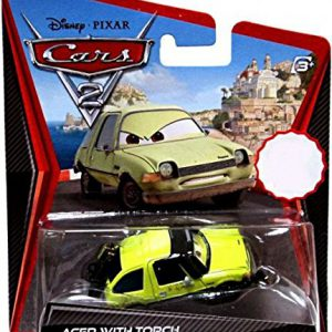 Disney / Pixar CARS 2 Movie 155 Die Cast Car Acer with Blow Torch by Mattel