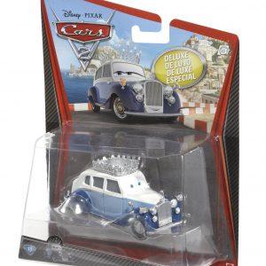 Disney / Pixar CARS 2 Movie 155 Die Cast Car Oversized Vehicle #10 THE QUEEN