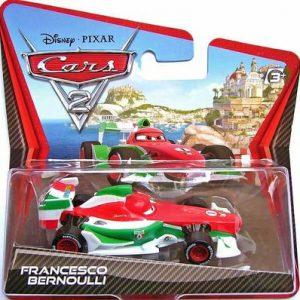 Disney / Pixar CARS 2 Movie 155 Die Cast Checkout Lane Package Francesco Bernoulli