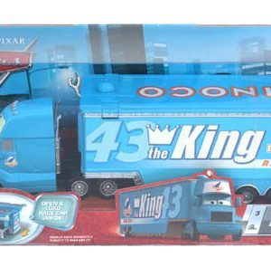 Disney / Pixar CARS Movie Hauler King's Gray
