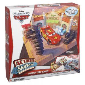 Disney Pixar Cars Action Shifters Luigis Playset