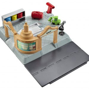 Disney Pixar Cars Action Shifters Ramone's Body Shop Playset