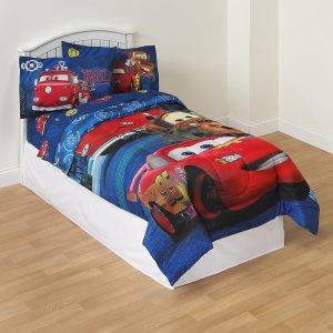 Disney Pixar Cars Boy's Microfiber Twin Comforter