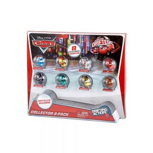 Disney Pixar Cars Micro Drifters Collector, 8-Pack