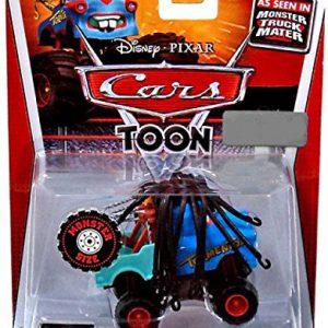 Disney Pixar Cars Toon Monster Truck Mater 1:55 Scale Rasta Mater
