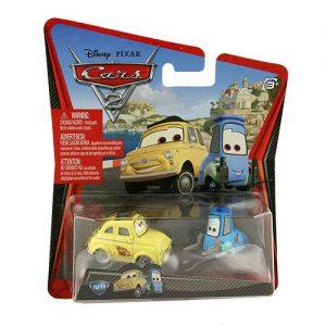 Disney Pixars Cars 2 Movie 155 Die Cast Car #10 11 Guido Luigi by Mattel