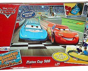 Disney Pixar's Cars - Piston Cup 500 Track Set with 2 Cars
