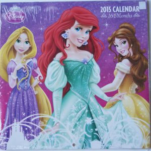 Disney Princess 2015 Wall Calendar