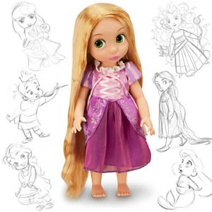 "Disney Princess Animators Collection 16"" Inch Doll Figure Rapunzel"