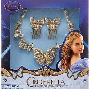 Disney Princess Cinderella Film Collection Deluxe Princess Acessory Exclusive Set [Live Action Version]