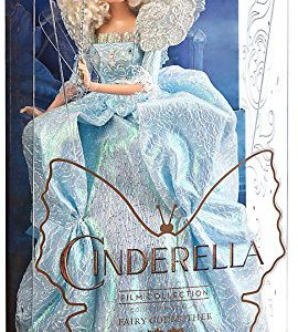 "Disney Princess Cinderella Film Collection Fairy Godmother 11"" Doll [Live Action Version]"