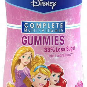 Disney Princess Complete Multi-Vitamin Gummies, 180 Count