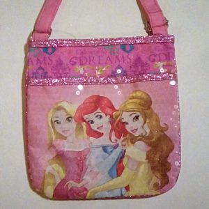 Disney Princess Cross Body Purse Rapunzel Ariel Belle