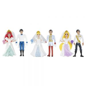 Disney Princess Fairytale Wedding Collection by Mattel