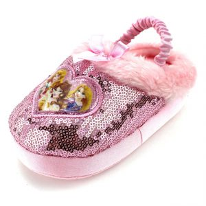 Disney Princess Girls Scuff Slippers (Toddler/Little Kid)