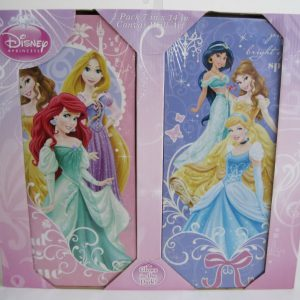 Disney Princess Glow in the Dark Wall Art Toy (Pack of 2)