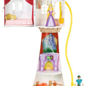 Disney Princess Rapunzel Tower with Flynn Playset