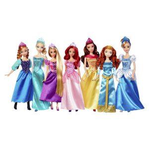Disney Princess Royal Doll Collection 7-Pack