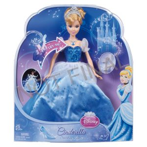 Disney Princess Swirling Lights Cinderella Doll (age: 36 months - 8 years)