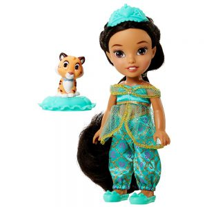 Disney Princess, Toddler Doll, Exclusive Petite Jasmine Doll and Rajah, 6 Inches