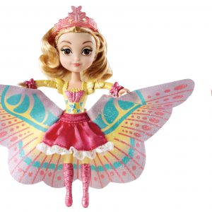Disney Sofia The First 2-In-1 Costume Surprise Amber Butterfly Dress Doll