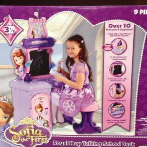 Disney Sofia The First Royal Prep Talking School Desk Exclusive